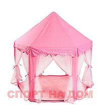 Детский шатер (Замок) голубой, фото 2