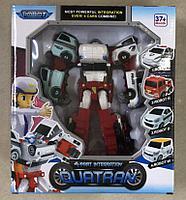 Робот трансформер механический Тобот Quatran 4 cars