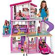 """Barbie Кукольный домик Барби """"Дом мечты"""" 3 этажный с лифтом и мебелью, фото 3"""