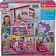 """Barbie Кукольный домик Барби """"Дом мечты"""" 3 этажный с лифтом и мебелью, фото 9"""