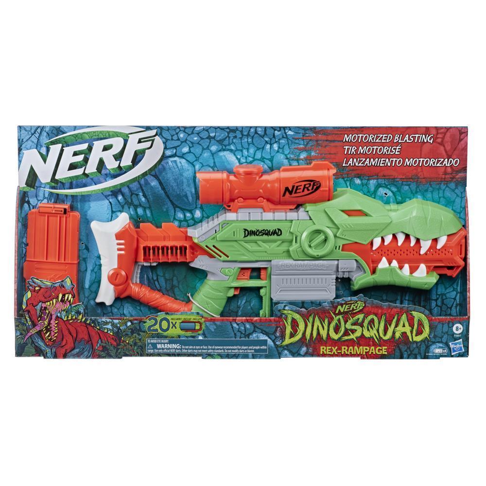 Hasbro Nerf Dinosquad Бластер Дино Рекс Рэмпейдж, Нёрф