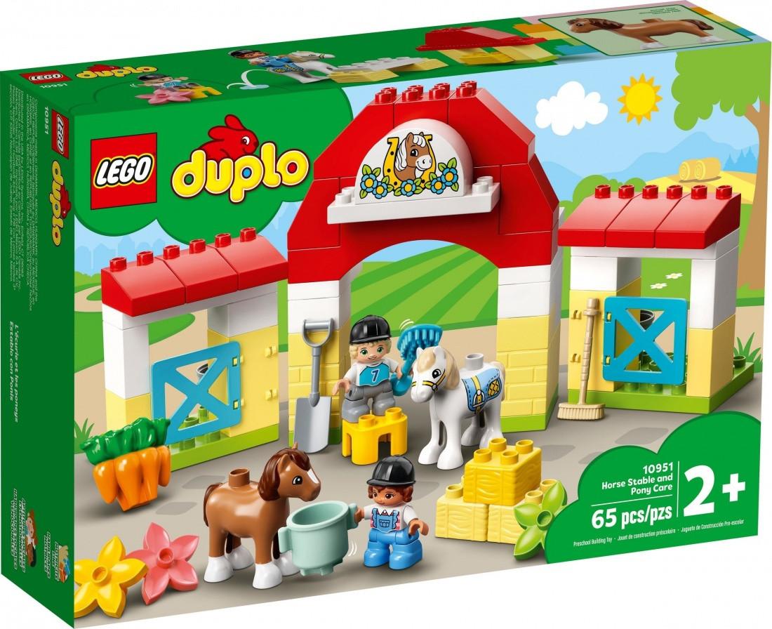 10951 Lego Duplo Конюшня для лошади и пони, Лего Дупло