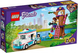 41445 Lego Friends Машина скорой ветеринарной помощи, Лего Подружки