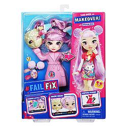 ФейлФикс Игровой набор кукла 2в1 Кавай Кьюти с акс. TM FAILFIX