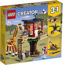 31116 Lego Creator Домик на дереве для сафари, Лего Креатор