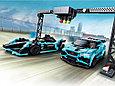 76898 Lego Speed Champions Formula E Panasonic Jaguar Racing GEN2 car & Jaguar I-PACE eTROPHY, фото 3