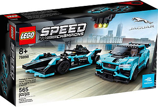 76898 Lego Speed Champions Formula E Panasonic Jaguar Racing GEN2 car & Jaguar I-PACE eTROPHY