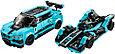 76898 Lego Speed Champions Formula E Panasonic Jaguar Racing GEN2 car & Jaguar I-PACE eTROPHY, фото 5
