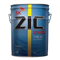 ZIC X5000 15w40 п/синт 20л