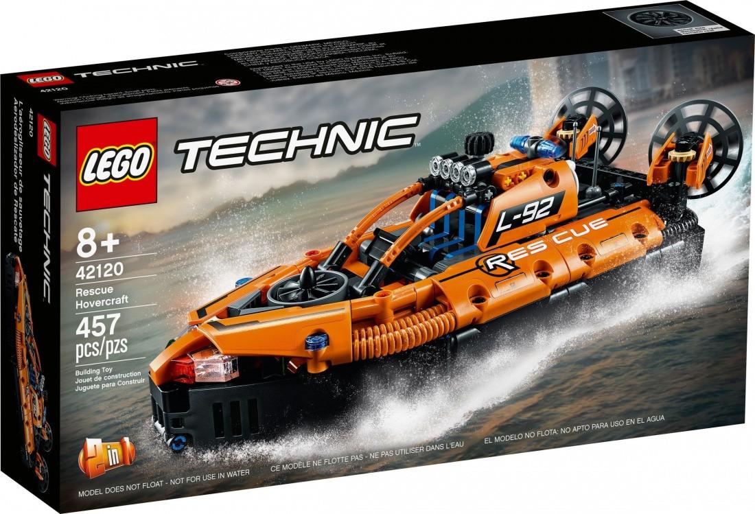42120 Lego Technic Спасательное судно на воздушной подушке, Лего Техник