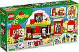 10952 Lego Duplo Фермерский трактор, домик и животные, Лего Дупло, фото 2
