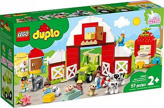 10952 Lego Duplo Фермерский трактор, домик и животные, Лего Дупло