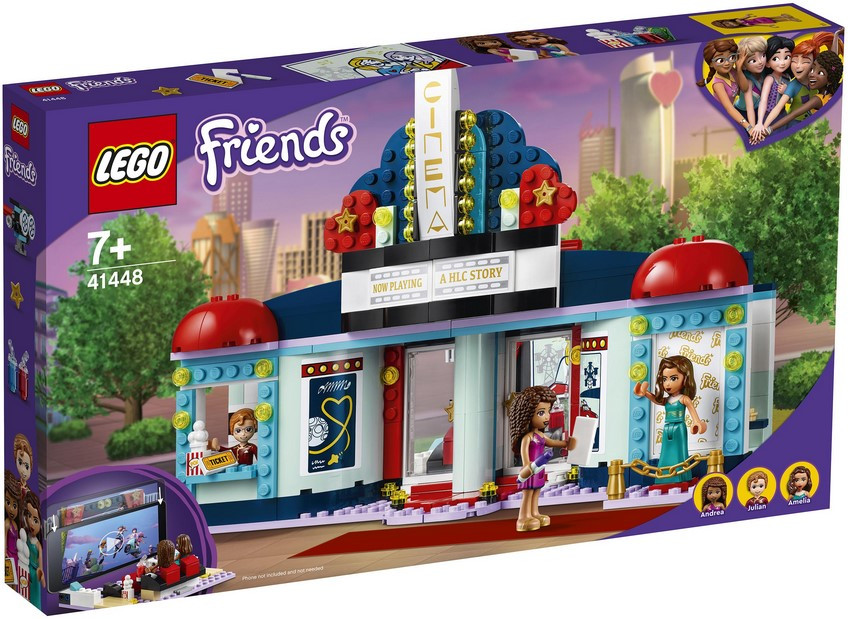 41448 Lego Friends Кинотеатр Хартлейк-Сити, Лего Подружки