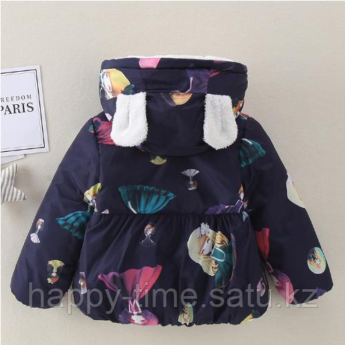 Демисезонная куртка для девочки - фото 5