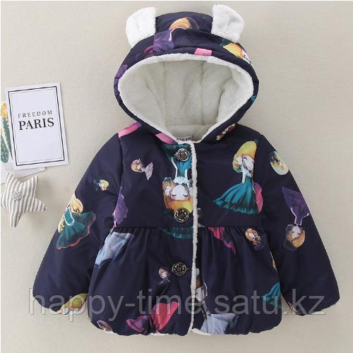Демисезонная куртка для девочки - фото 4