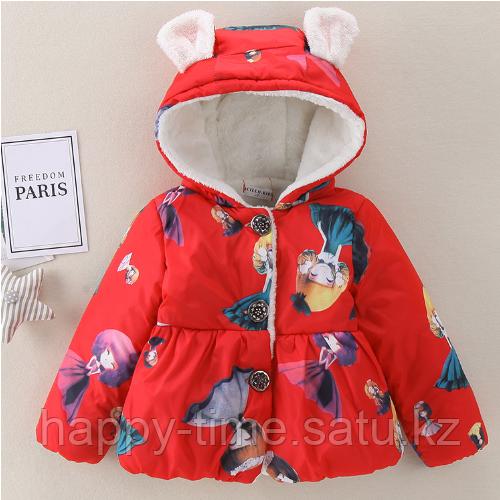 Демисезонная куртка для девочки - фото 6