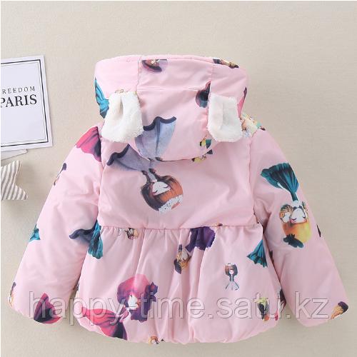 Демисезонная куртка для девочки - фото 2