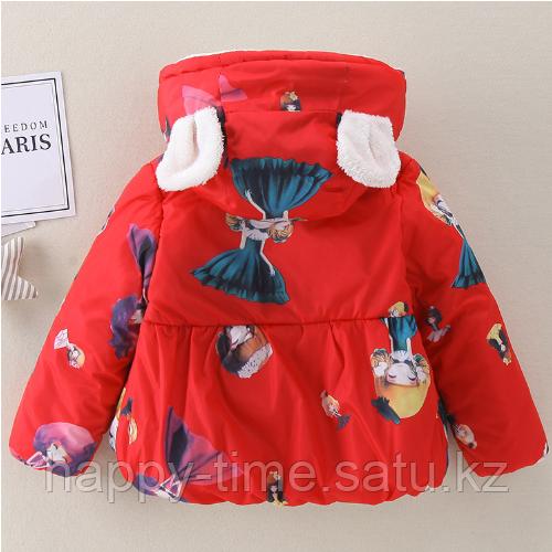 Демисезонная куртка для девочки - фото 7