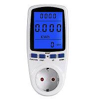 Измеритель мощности ваттметр для электроприборов с подсветкой дисплея