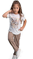 Пижама девичья подростк. 16/176 см, Кремовый