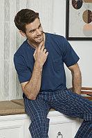 Пижама мужская M/46-48, Синий