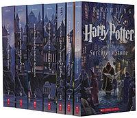 Harry Potter Box Set, Гарри Поттер комплект из семи книг на английском языке, Джоан Роулинг, Мягкий переплет