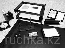 Настольный набор руководителя Bestar, черный, 11 предметов