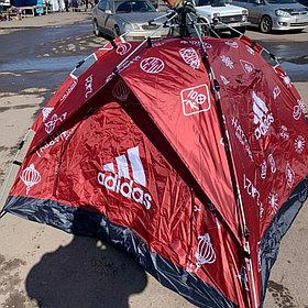 Палатка быстро сборная ЗОНТ 2м*2м