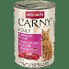 Консервы CARNY ADULT коктейль из разных сортов мяса д/взрослых кошек.