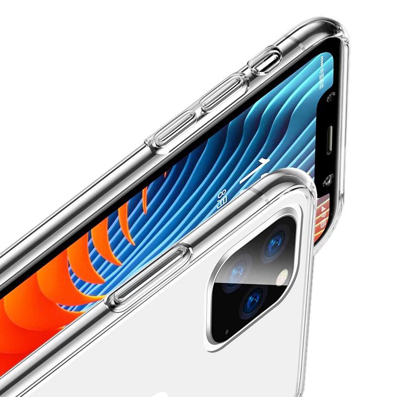 Прозрачный силиконовый чехол для iPhone 12 mini (5.4) - фото 2