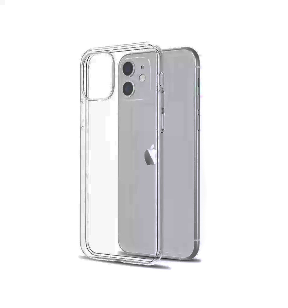Прозрачный силиконовый чехол для iPhone 12 mini (5.4) - фото 4