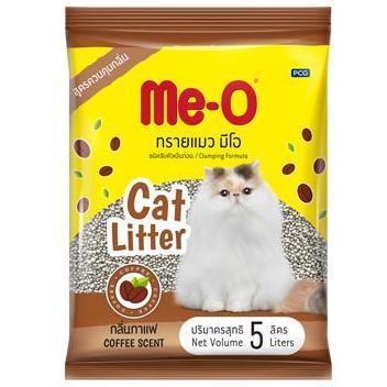 Me-O Наполнитель комкующийся Кофе, 5 л