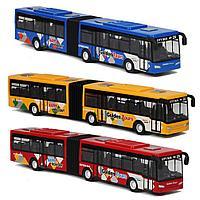 Игрушечный транспорт гибкий автобус 1:32