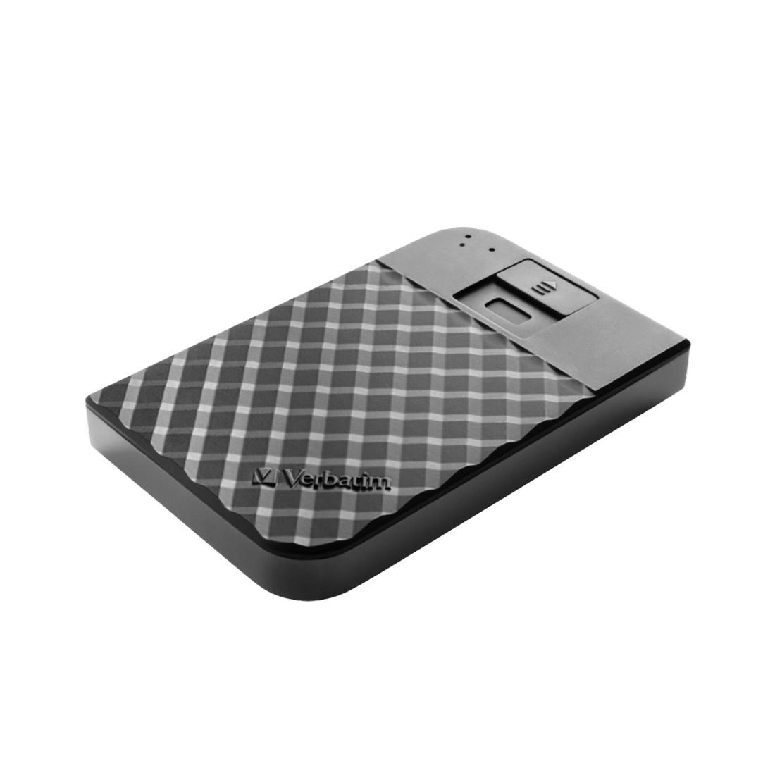 """Внешний жёсткий диск  Verbatim  53650  1TB  2.5""""  USB 3.1  Чёрный"""