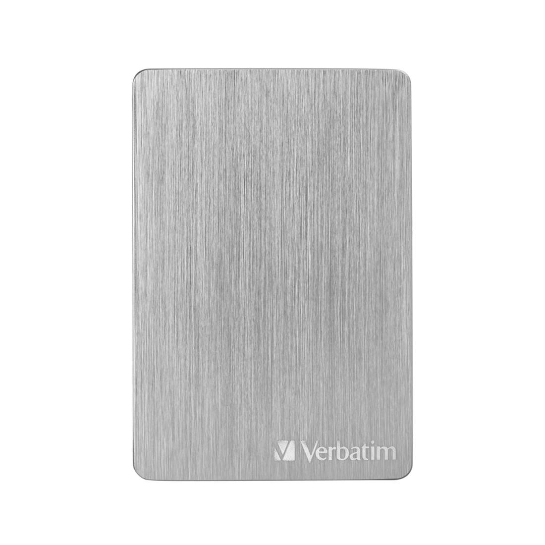 "Внешний жёсткий диск, Verbatim, 53666, 2TB, 2.5"", USB 3.2, Серебристый"