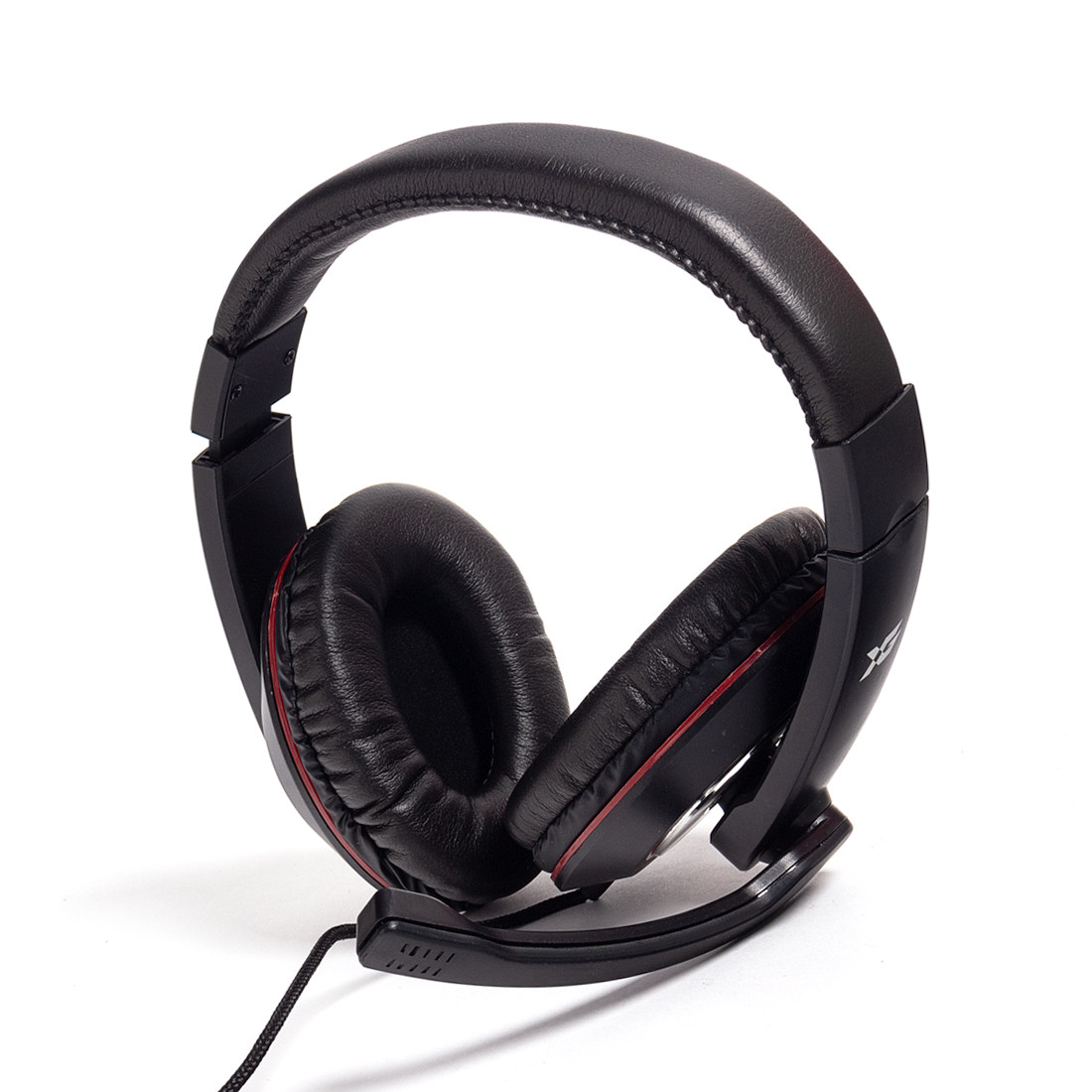 Гарнитура  X-Game  XH-868  Микрофон  Чёрно-Красный
