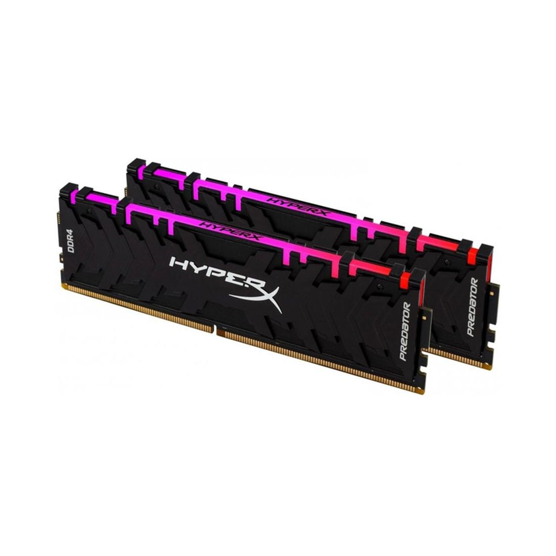 Комплект модулей памяти  Kingston  HyperX Predator RGB HX436C18PB3AK2/64 (в комплекте 2 шт)