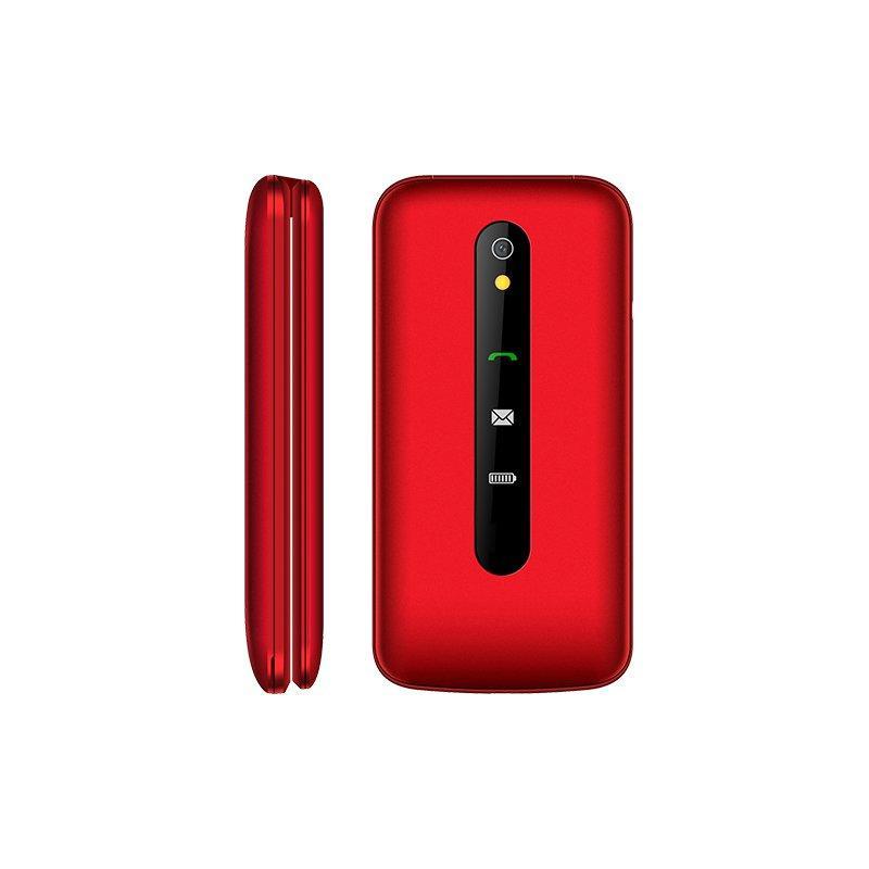 Мобильный телефон Texet TM-408 красный