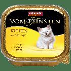 Консервы VOM FEINSTEN KITTEN с мясом домашней птицы для котят (100 гр.)