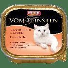 Консервы VOM FEINSTEN for castrated cats с индейкой и лососем д/кастрированных кошек