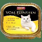 Консервы VOM FEINSTEN for castrated cats с индейкой и сыром д/кастрированных кошек