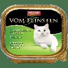 Консервы VOM FEINSTEN for castrated cats с отборной индейкой д/кастрированных кошек