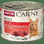 Консервы CARNY ADULT с отборной говядиной д/взрослых кошек
