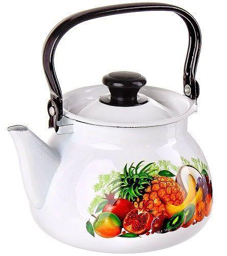 """Чайник эмалированный сферич. """"Эквадор"""" 3 литра"""