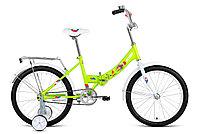 """Велосипед ALTAIR CITY KIDS 20 Compact (20"""" 1 ск. рост 13"""" скл.) 2020-2021, ярко-зеленый, 1BKT1C20100"""