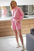 Женский осенний трикотажный розовый спортивный спортивный костюм GO F3012/09-01.164-170 42р.