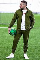 Мужской осенний трикотажный зеленый спортивный спортивный костюм GO M3009/28-02.176-182 44р.