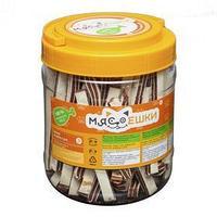Лакомство для собак 'Мясоешки' палочки из трески и утки, 750 г