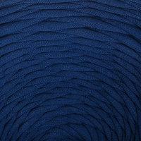 Пряжа трикотажная широкая 100м/320±15гр, ширина нити 7-9 мм (синий) МИКС