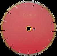 """Сегментный диск по граниту (sinered) розовый """"спеченый"""" 350 мм 350D-2.8T-10W-32/25.4H+P"""